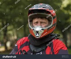 motocross full gear caucasian male motocross rider full gear stock photo 30669592