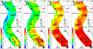 Geo Mapping Probabilities Of Earthquake Occurrences Along The Sumatra Andaman