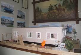 my 12th scale static caravan and seaside scenes by gillian