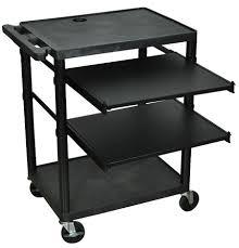 Mobile Computer Desks Workstations Adjustable Mobile Computer Workstation Desks Tables Carts