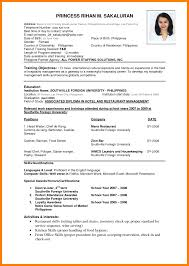 Sample Resume Word Pdf by 6 Sample Of Cv Pdf Portfolio Covers