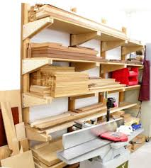 Tool Storage Shelves Woodworking Plan by Best 25 Lumber Rack Ideas On Pinterest Wood Storage Rack