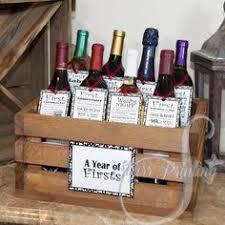 wedding shower gifts i this milestone wine basket bridal shower give a basket