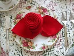 napkin folding seasonal ideas for table decoration family
