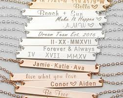 make your own name necklace monogram name necklaces etsy