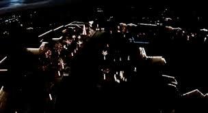 drone footage shows off next level neighborhood christmas lights