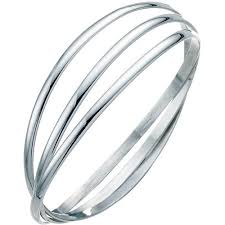 russian wedding band 3 4oz 925 silver 3 band russian wedding bangle