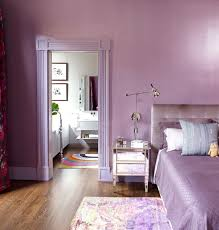 lavender painted walls brooklyn heights townhouse contemporary bedroom new york