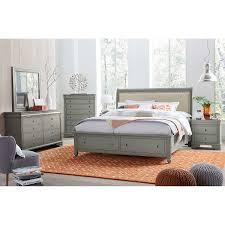 Queen Bedroom Sets With Storage Carlisle 6 Piece Queen Storage Bedroom Set
