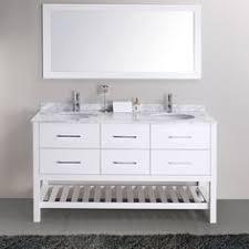 alyssa 56 inch double sink vanity set random pinterest