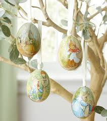 easter egg ornament trees happy easter 2017