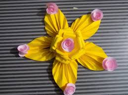 Handmade Decorative Items For Home How To Make Paper Flowers Decorations Eisly At Home Step By Step