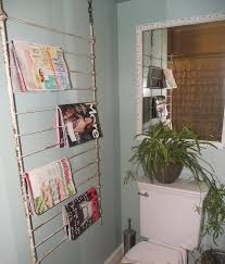 Bathroom Wall Magazine Rack Serendipity Chic Design Eclectic Chic Bathroom Makeover