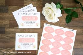 save the date stickers printable save the date cards and stickers