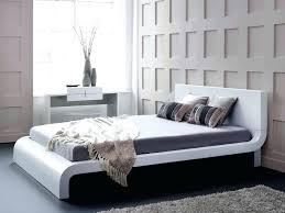 beds modern white bed sets king size coverlet bedside table buy