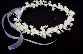 Baby S Breath Flower Infant Floral Headband Artificial Babys Breath Flower Crown White