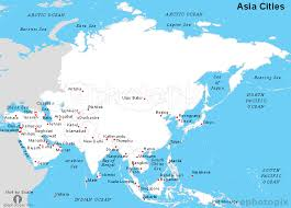 map of aisa asia cities map cities map of asia continent