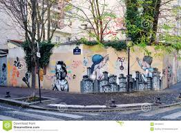 wall mural painting by famous french street artist seth editorial stock photo download wall mural painting