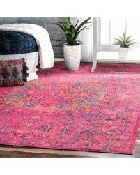 Pink 8x10 Rug Savings On Nuloom Vintage Floral Mandala Pink Rug 8 U0027 X 10 U0027 Pink