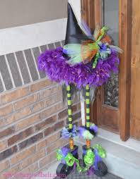 halloween witch decoration her tool belt
