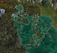 sea of map the jade sea map guild wars wiki gww