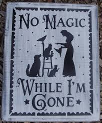 halloween plaques primitive witch halloween sign witches by sleepyhollowprims on zibbet