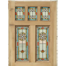 leaded glass door inserts