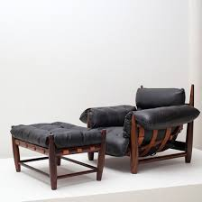 Armchair And Ottoman Vintage Mole Armchair And Ottoman Armchair By Sergio Rodrigues