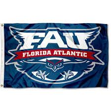 Flags Of Florida Florida Atlantic University Owls Flag Fau Large 3x5 Ebay