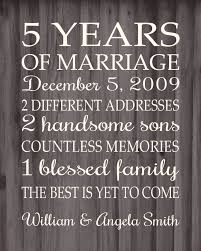five year wedding anniversary gift ideas the 25 best 5 year anniversary ideas on 3rd wedding