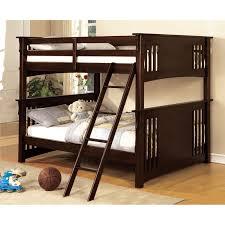 Furniture Of America Paramount Full Over Full Bunk Bed Dark - Furniture of america bunk beds