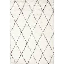 Home Decorators Area Rugs Modern Area Rugs Allmodern Diamond Platinum White Indooroutdoor