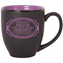 serenity prayer mug serenity prayer gift items graymoor book and gift center