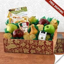 fruit gift box italian pride of the farm fruit gift box capalbos gift baskets