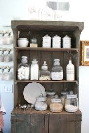 best 25 beach style bathroom canisters ideas on pinterest rustic kitchen hutch with great white jars and accessories