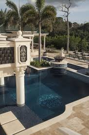 style of home dramatic pool designs luxury pools