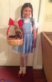 Toddler Dorothy Halloween Costume Animated Photo Yorkie Halloween Gif Videos