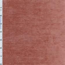 Velvet Chenille Upholstery Fabric 2 Yd Pc Cinnabar Pink Braemore Palermo Velvet Chenille Upholstery