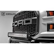 Led Vehicle Light Bar by Zroadz Z325662 Kit F 150 Raptor Front Bumper 40