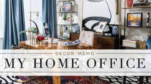 Home Decor Tip Home Office Tour Decor Tips Design Details Memorandum By