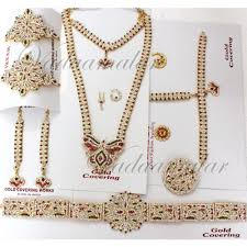 kuchipudi jewelry set 10 pcs indian bridal wedding