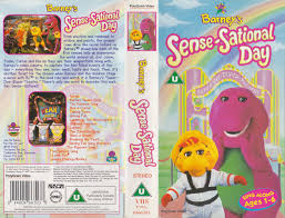 lyssa chan gets barney u0027s sense sational day 1997 uk vhs and gets