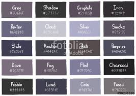 shades of gray names shades of grey color grey tone color shade background with code and