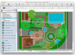 Backyard Planning Software by How To Use Landscape Design Software Building Drawing Software