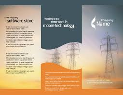 power line brochure template design and layout download now