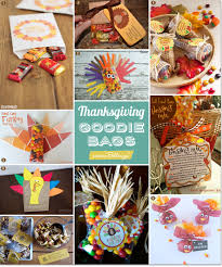 goodie bag ideas thanksgiving goodie bags you can craft as party favors