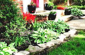 landscape landscaping ideas for slopes in backyard the garden