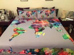 Skateboard Bedding Quilted World Map Bedspreads Google Search Background Exercise