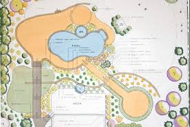 construction site plan landscape construction blueprints site plan for property in
