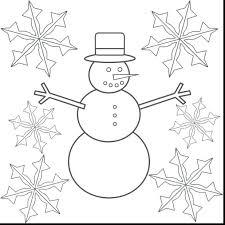 snowflake coloring pages kindergarten gorilla color free